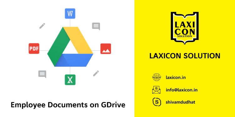 Employee Documents on GDrive by Laxicon Solution