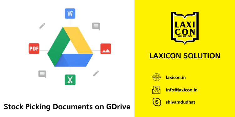 Stock Documents on GDrive by Laxicon Solution