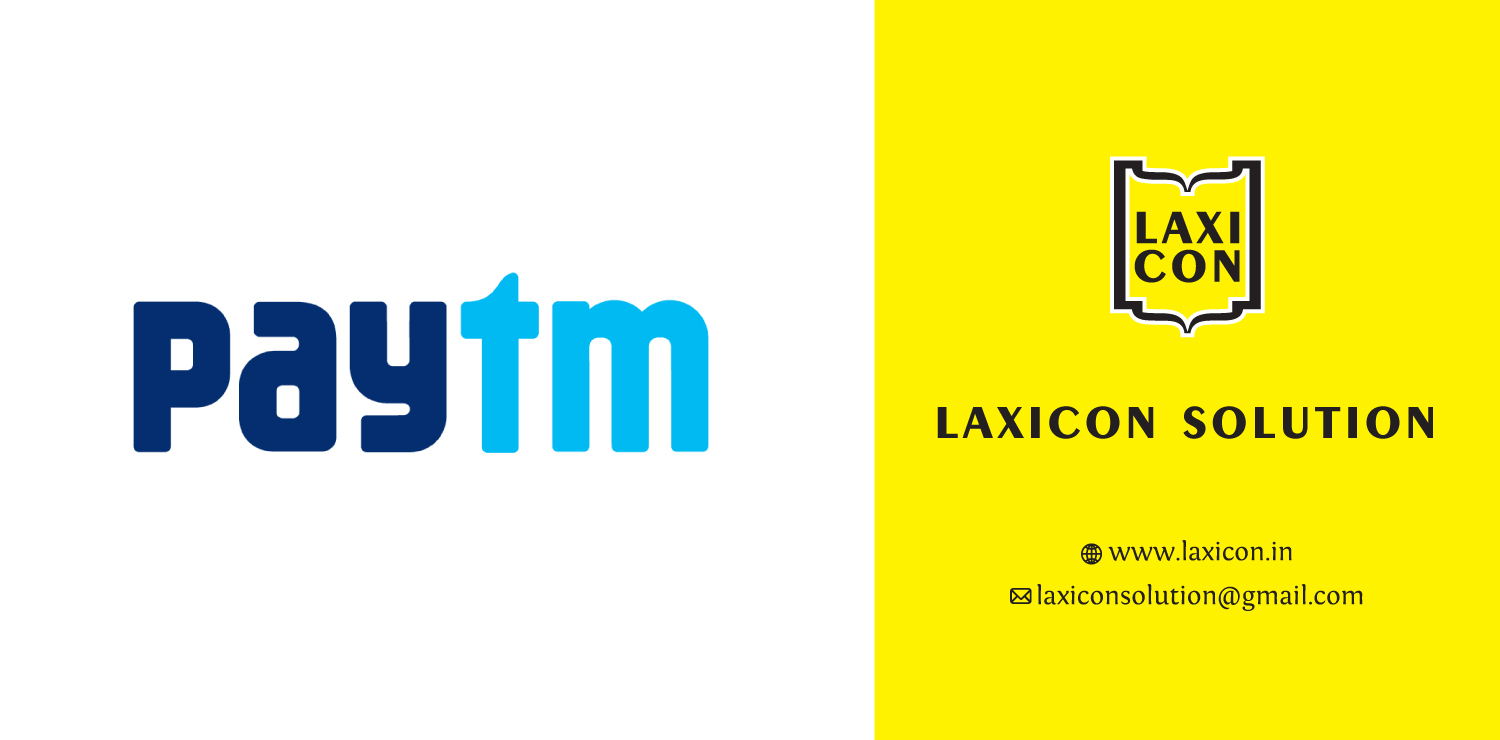 Paytm Gateway Interface by Laxicon Solution