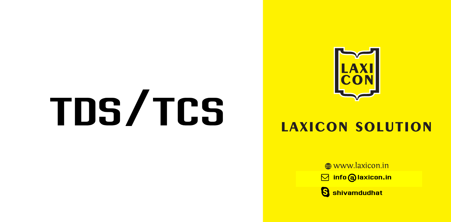 Laxicon TDS/TCS by Laxicon Solution